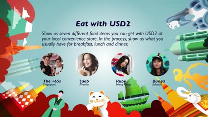 Eat with USD2: The +65s, Saab, Ruby and Bunga