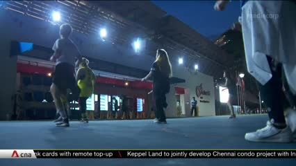 Larger outdoor exercise classes resume amid COVID-19 | Video
