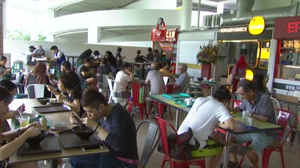 Pasir Ris Central Hawker Centre opens