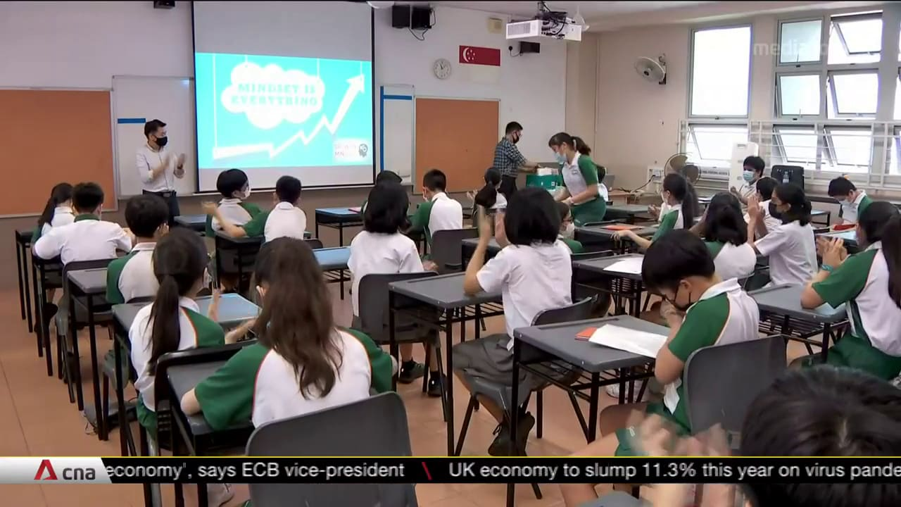 PSLE results: 98.4% of students can progress to secondary school | Video