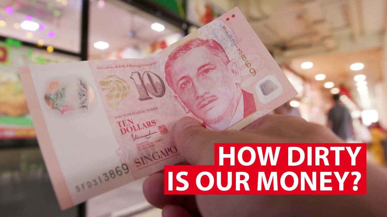 How dirty is our money?
