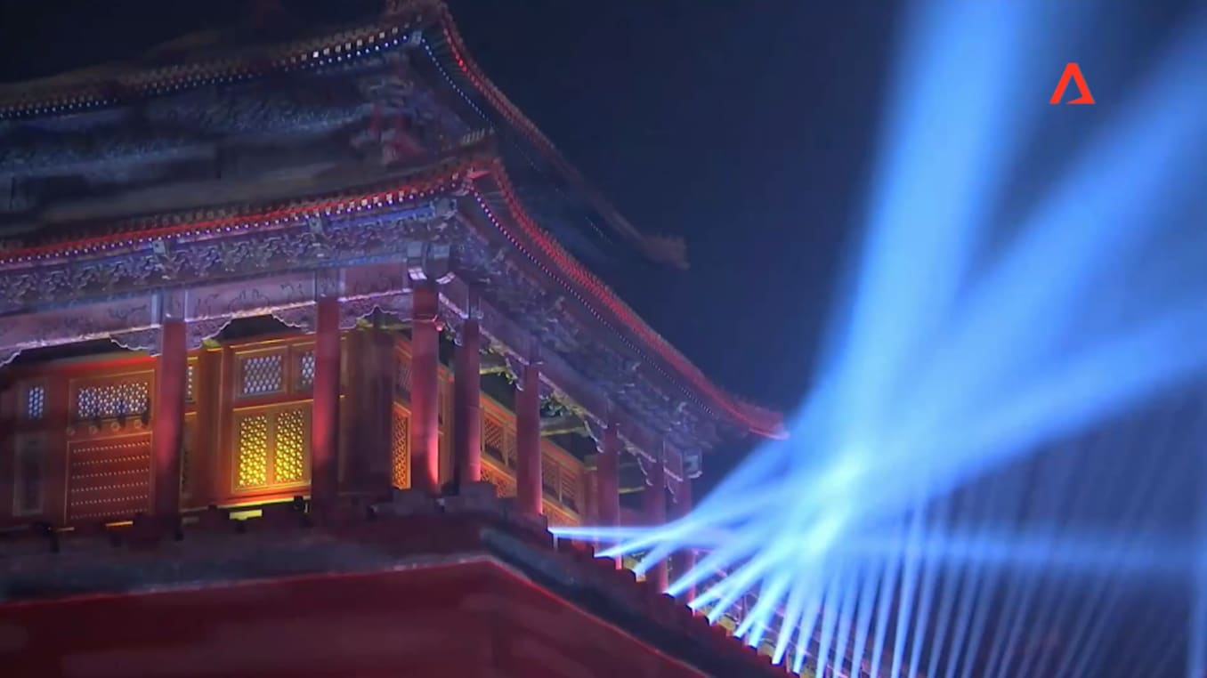 China's Forbidden City opens at night for the first time in 94 years | Video
