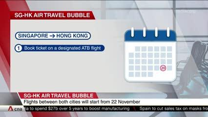 Singapore, Hong Kong air travel bubble to start on Nov 22 | Video