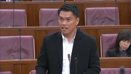 Committee of Supply 2020 Debate, Day 1: Patrick Tay on legal technology
