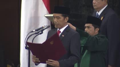 Indonesia's Joko Widodo marks four years in office   Video