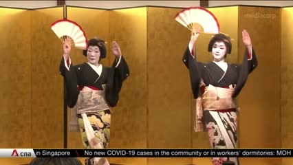 Japan's geishas turn to traditional tools to lower COVID-19 risk | Video