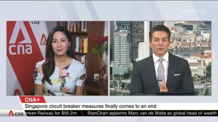 CNA+: When will life get back to normal in Singapore? Talking Point explores.