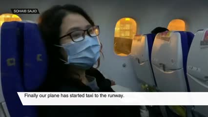 Second flight bringing Singaporeans from Wuhan lands; medical screening and quarantine for 174 passengers | Video