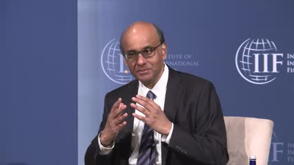 Senior Minister Tharman receives international leadership award | Video
