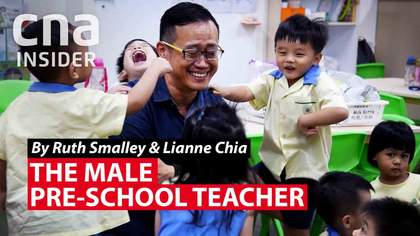 The male pre-school teacher