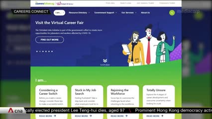 Workforce Singapore's career matching services help about 10,000 job seekers find employment | Video