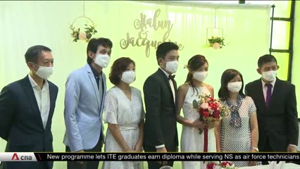 COVID-19 impact on wedding industry continues despite innovation from businesses | Video