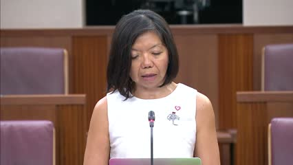 Anthea Ong on Supreme Court of Judicature (Amendment), Judges' Remuneration (Amendment), Constitution of the Republic of Singapore (Amendment) Bills