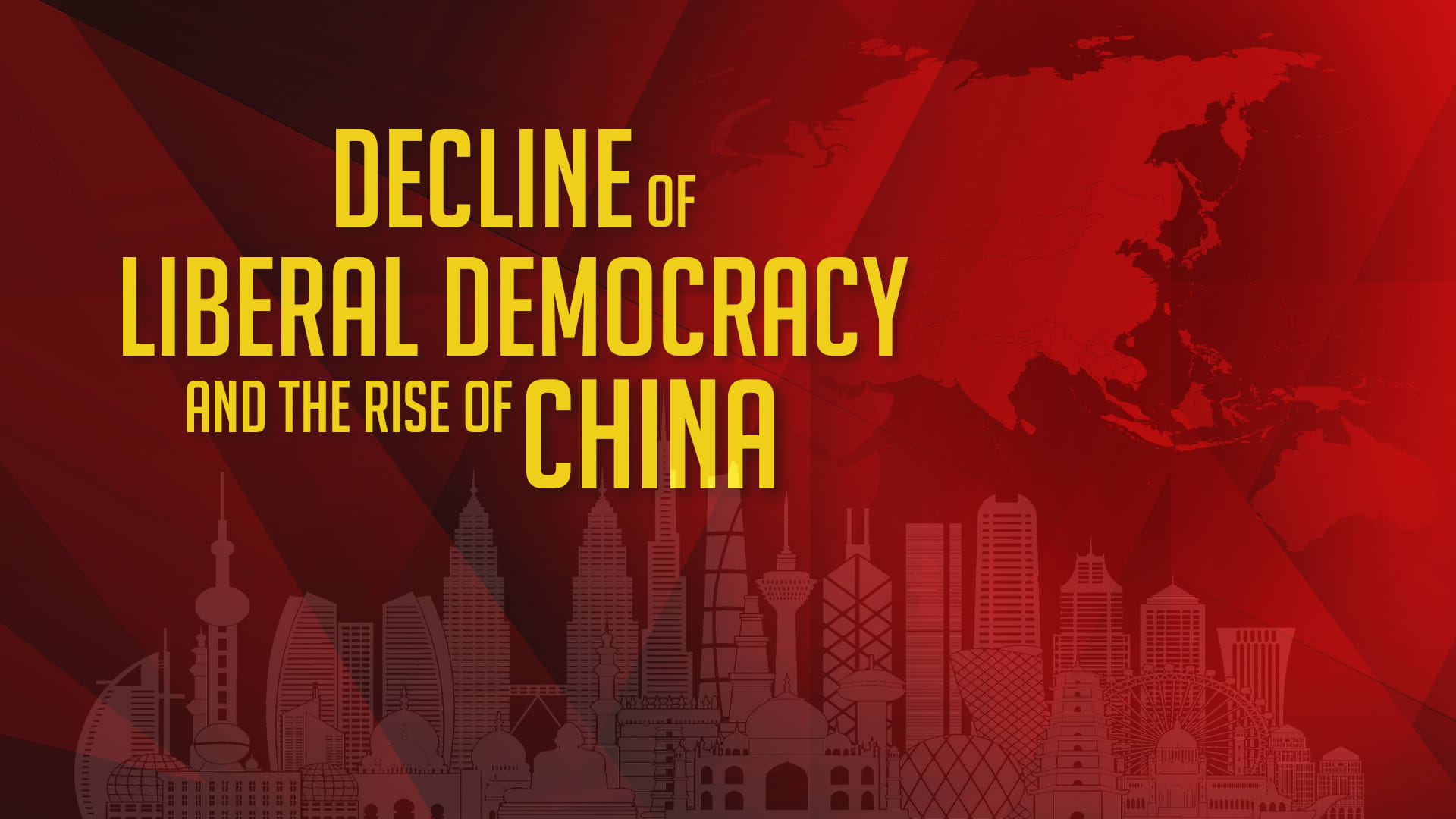 Decline of Liberal Democracy and the Rise of China: Has ASEAN given in to the temptation?""