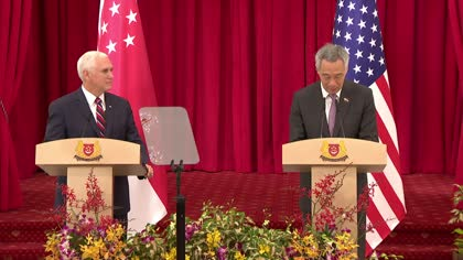 'Singapore and US stand together and stand strong': PM Lee, VP Pence reaffirm robust, enduring partnership | Video
