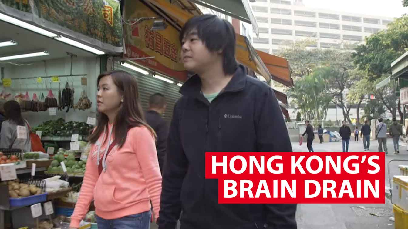 Hong Kong's new brain drain: The unhappy generation