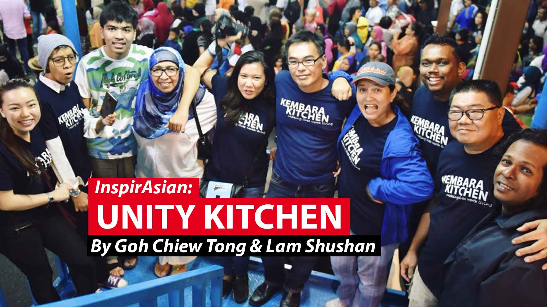 Unity kitchen: Rallying to help feed Malaysia's hungry