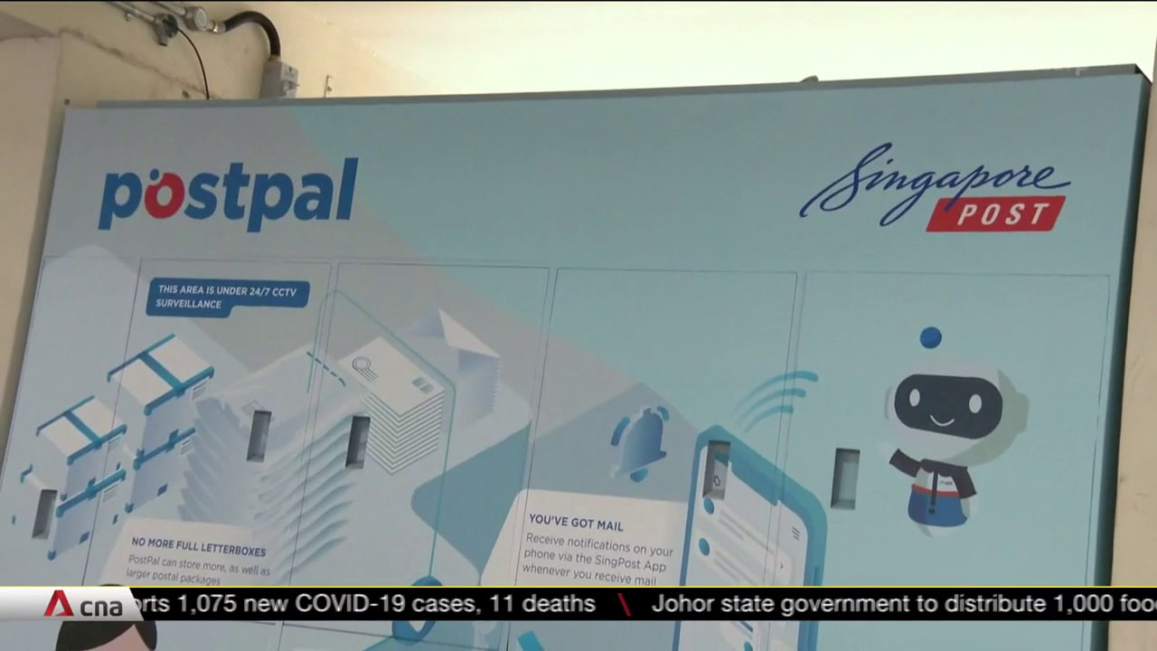 SingPost smart letterbox pilot to reduce junk mail, wrong deliveries | Video