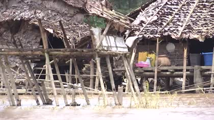 Myanmar villagers return home as flood waters recede | Video