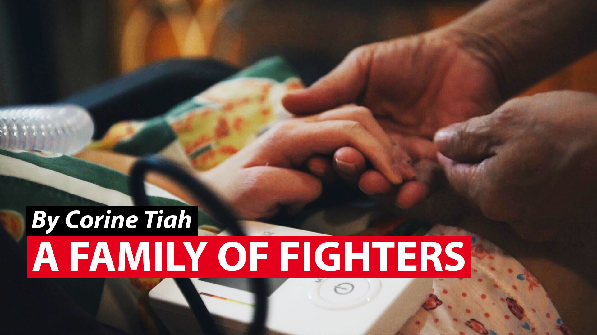 A family of fighters: Defying brain cancer