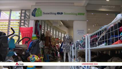 Most donated items thrown out rather than sold   Video