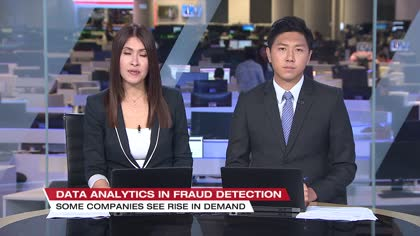 More companies turn to data analytics to combat fraud | Video