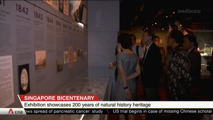 CNA+: SG Bicentenary National History Exhibition