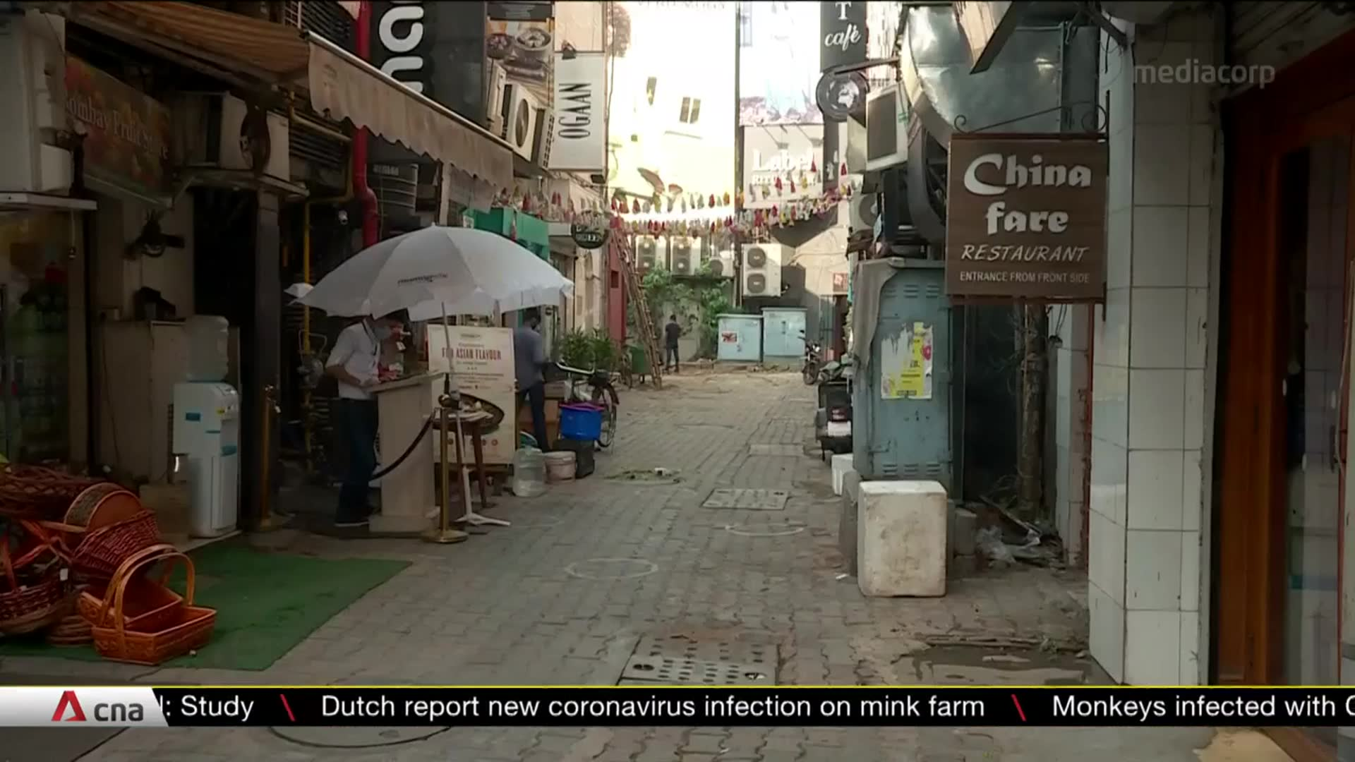 Customers stay away from restaurants in India as COVID-19 cases surge | Video