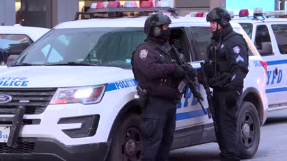 Extra security presence in New York over holiday period following recent attacks