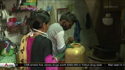 Lack of clean water in India hampers COVID-19 fightback | Video