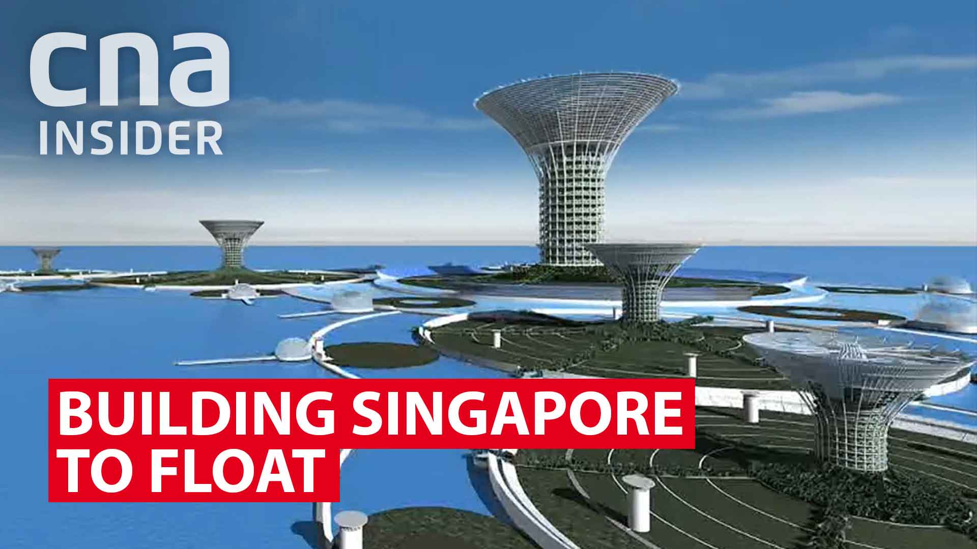 Building Singapore to float