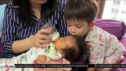 COVID-19: More new parents opt for confinement food catering amid nanny shortage   Video