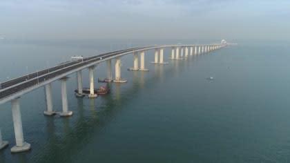 New megabridge key to China's Greater bay Area push   Video