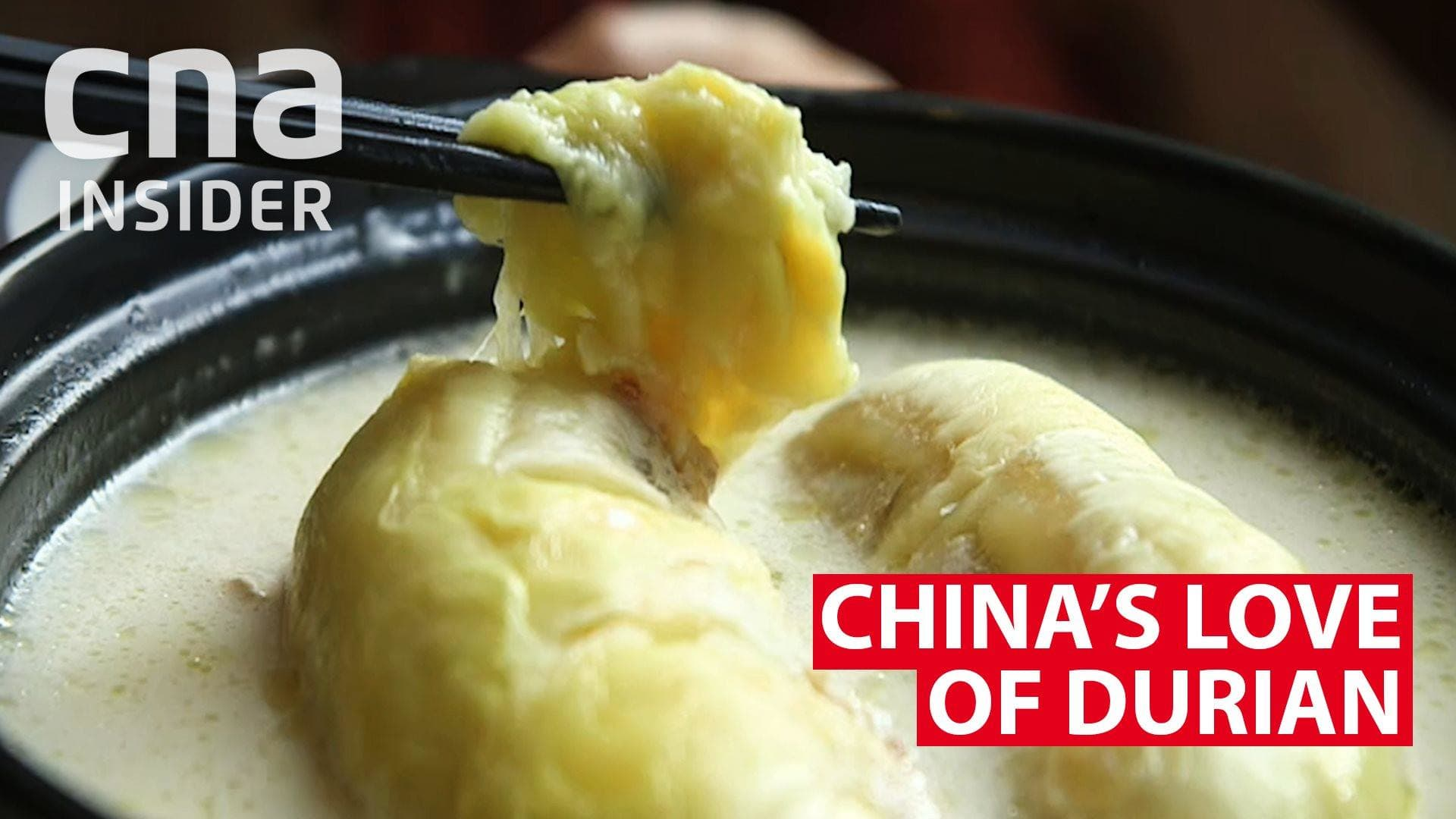 China's love of durian