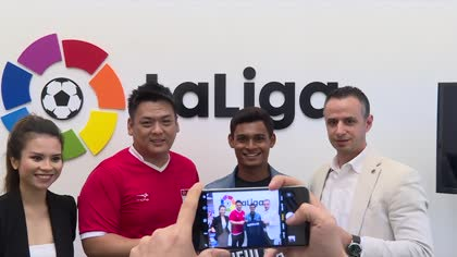 Football: Singapore's Saifullah Akbar heads to Spain for trial with Tenerife | Video