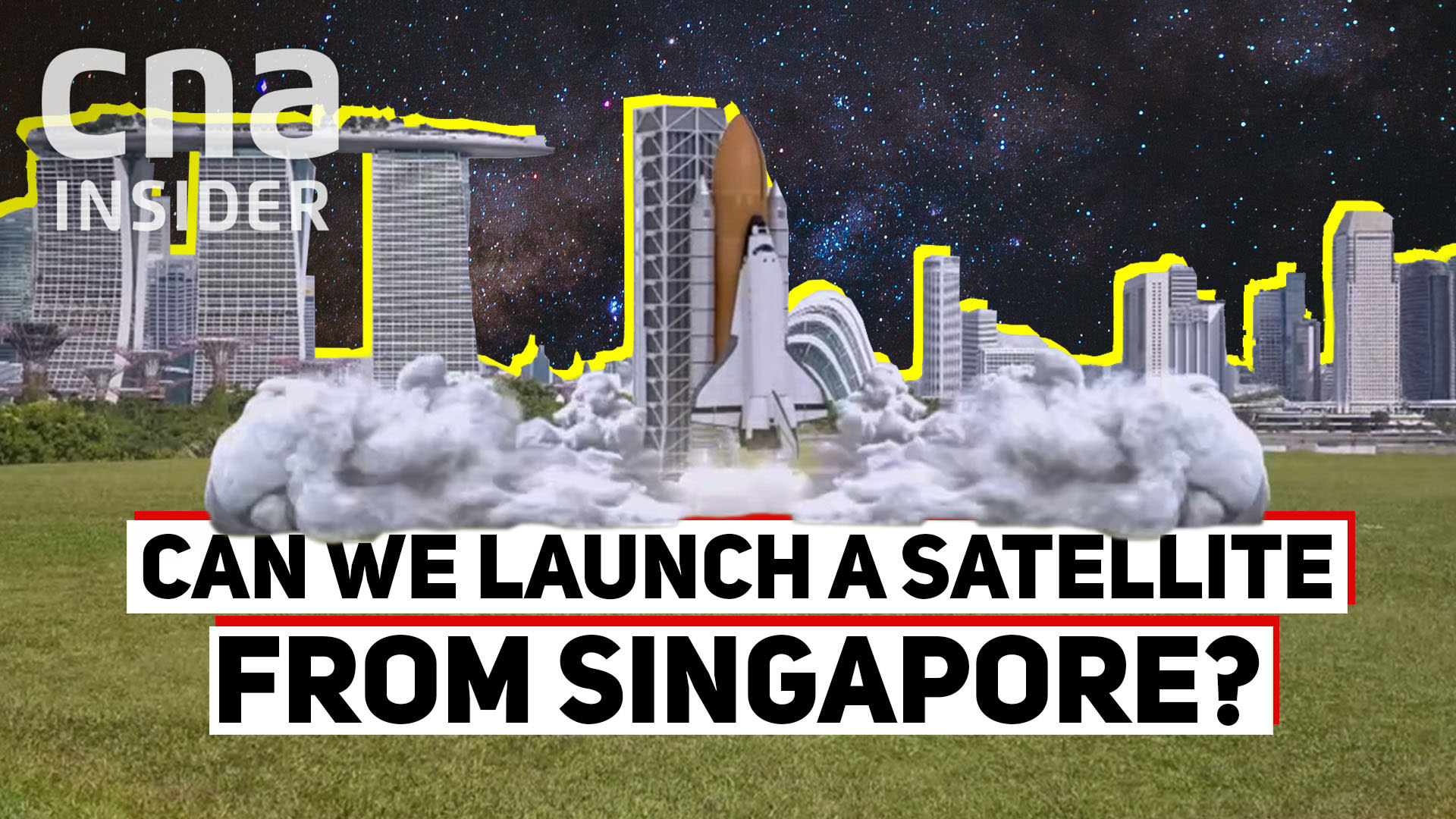 Singapore's 'space force': Entrepreneurs blasting their way into outer space