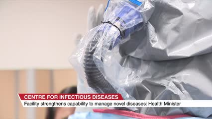 New infectious diseases centre to have real-time location tracking | Video
