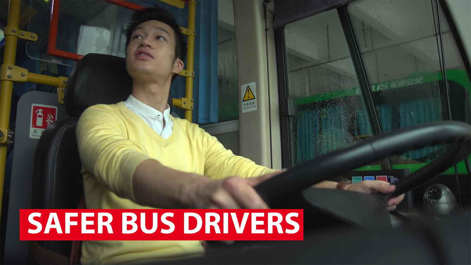 Safer bus drivers