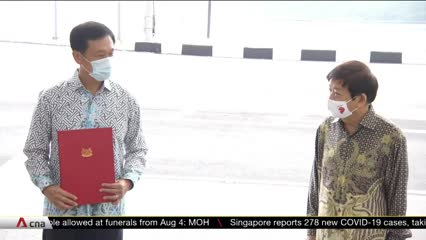 Singapore, Malaysia hold ceremony at Causeway to mark resumption of RTS Link project | Video