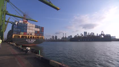 Blockchain technology could disrupt logistics industry | Video