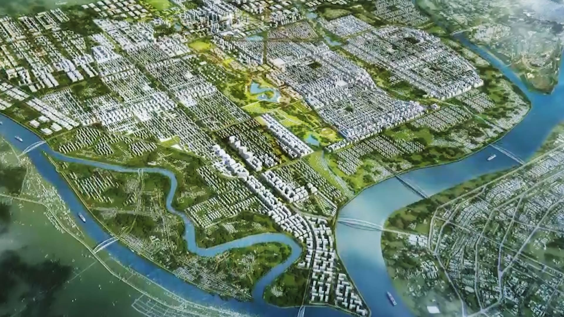 A new city across the river from Yangon? | Video