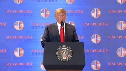 "US to end ""tremendously expensive"" war games with South Korea: Trump 
