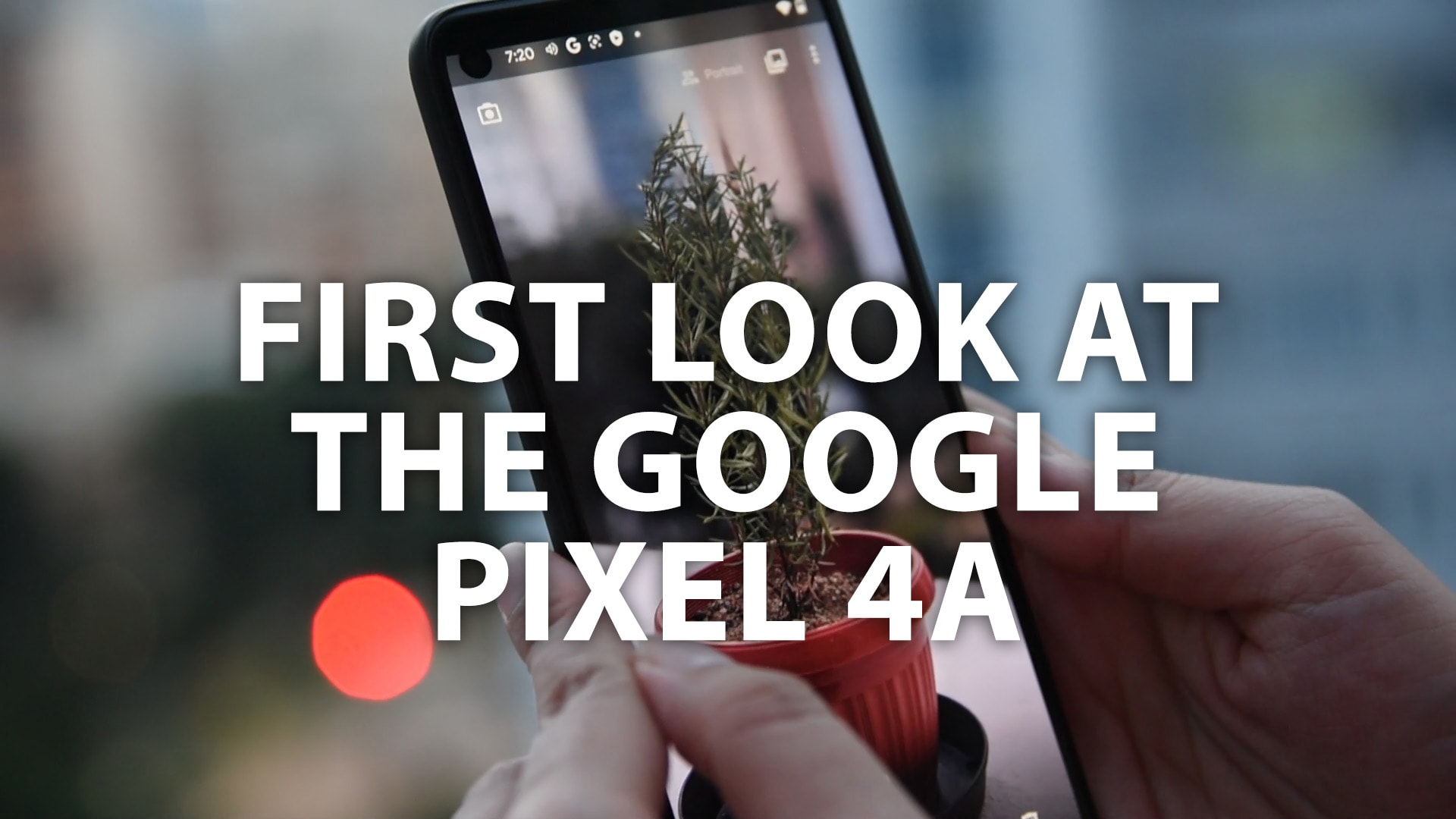 First look at Google's S$499 Pixel 4a smartphone | CNA Lifestyle