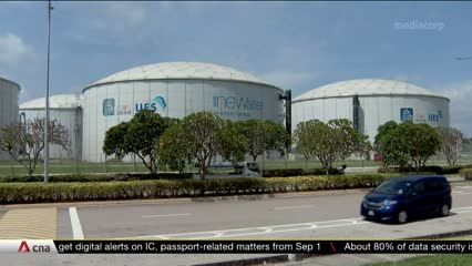 Work to build new S$230m NEWater factory in Changi to start in 2022 | Video