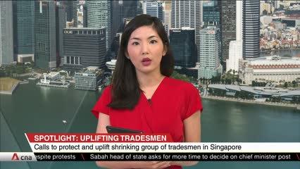 CNA+: Spotlight on uplifting tradesmen in Singapore