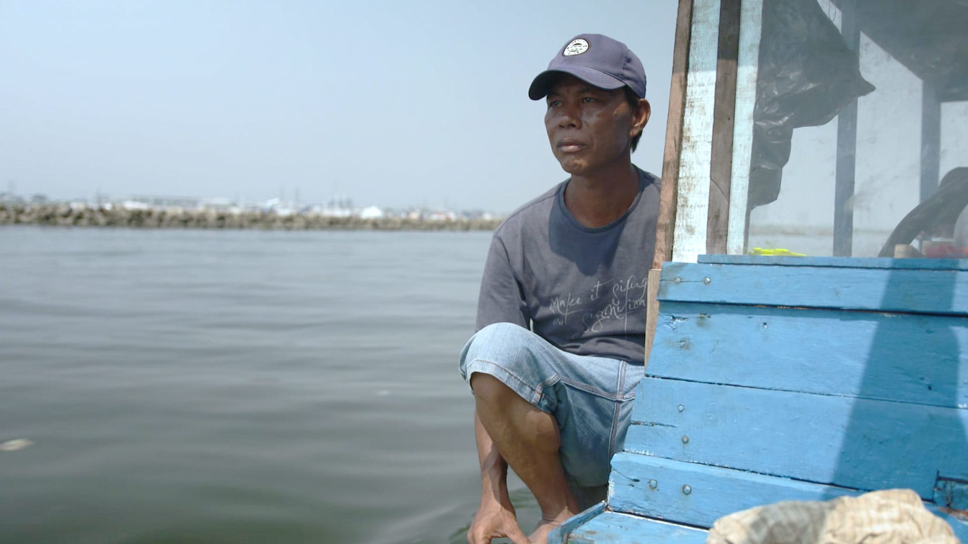 'It's hard to work as a fisherman': Indonesian fishermen fret about livelihoods amid reclamation | Video