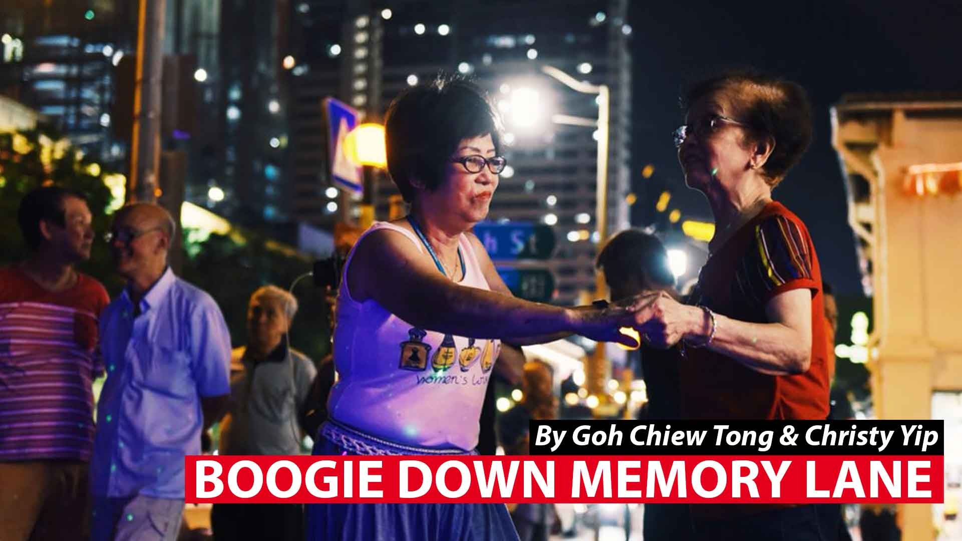 Boogie down memory lane: Street-jamming seniors