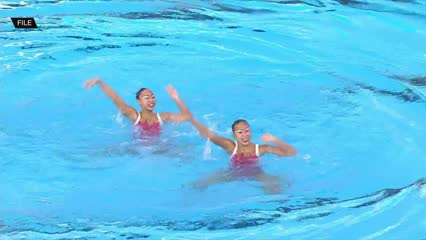 Synchronised swimming making a big splash in Singapore | Video