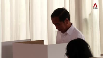 Indonesia elections 2019: President Joko Widodo optimistic about outcome