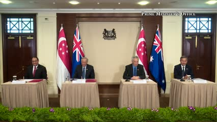 Singapore, Australia leaders hold virtual meeting, agree to keep markets open amid COVID-19 outbreak | Video